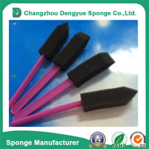 PU Cleaning Brush Foam with Wood Handle/Plastic Handle pictures & photos