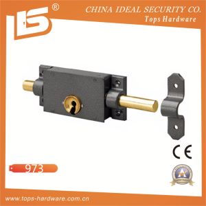 Security Metalux Rim Lock, Special Key Entry, Round Latch - 973 pictures & photos