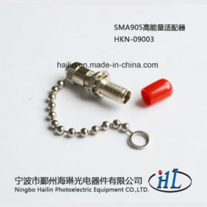 High Power Fiber Optic SMA905 Adaptor with Chain Dust Cap pictures & photos