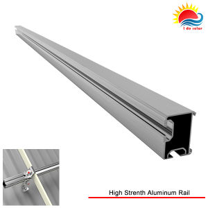 High-Strength Anodized Alumium 6005-T5 Solar Mounting Rail (GD909) pictures & photos