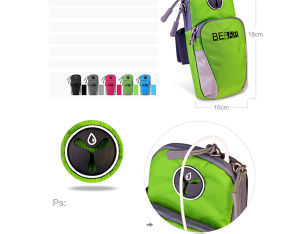 Mobile Arm Pouch for Phone and Keys for Running (BF161028) pictures & photos