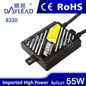 55W HID Xenon Ballast for All Car with Ce RoHS E-MARK Certificate
