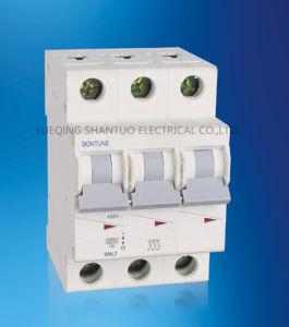 Sontune Snl7 3p Series (MCB) Miniature Circuit Breaker 63A 10ka pictures & photos