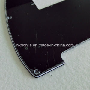 Cut for Mini Pickup 3ply Black Tele Guitar Pickguard pictures & photos