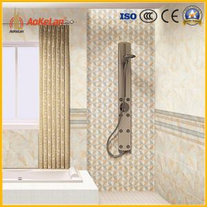 Inkjet Glossy Glazed Interior Ceramic Wall Tile for Bathroom pictures & photos