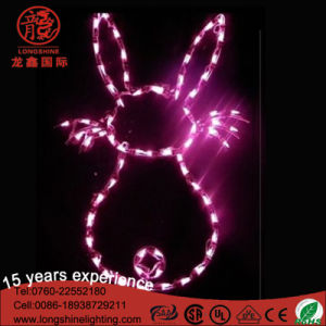 LED Easter Bunny Lights Motif Light for Decoration pictures & photos