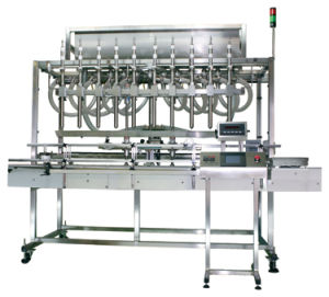 Filling Machinery Full Automatic Liquid Beverage Water Labeling Machine pictures & photos