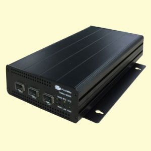Carrier Grade Managed 10ge Fiber Optic Media Converter pictures & photos