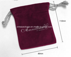 Factory Wholesale Velvet Gift Pouch pictures & photos