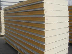 Polyurethane Cold Storage Room Warehouse PU Sandwich Panel pictures & photos