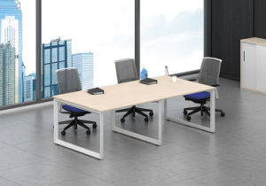 White Customized Metal Steel Office Conference Table Frame Withht63-3 pictures & photos