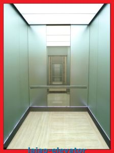 Mirror Etching Machine Roomless Passenger Elevator pictures & photos