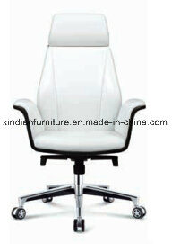 Xindian 2017 New Fashion Design White PU Leather Office Chair (A9161) pictures & photos