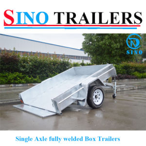 New Design Single Axle Trailers pictures & photos