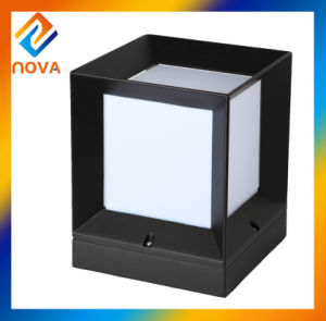 Factory Direct Aluminum IP44 Pillar 110 Volt Outdoor Pillar Light pictures & photos