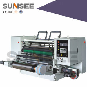 Slitting Machine for Non-Woven Fabric Material pictures & photos