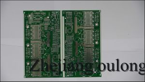 2 Layer Hal PCB with Green Solder Mask pictures & photos
