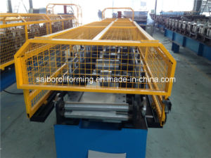 Gutter Roll Forming Machine Machine with Pre-Cutting pictures & photos