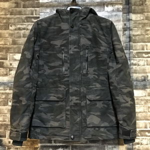 Camouflage Latest Design Men Long Jacket with Waterproof Zipper pictures & photos