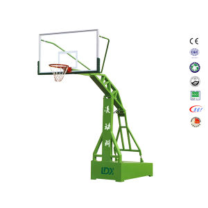 Outside Best SMC Backboard Steel Base Basketball Stand for Academy pictures & photos