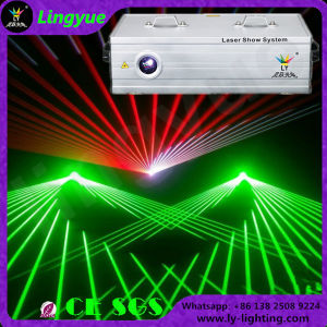 Animation 1W-3W RGB Professional DJ Night Club Stage Laser Light pictures & photos