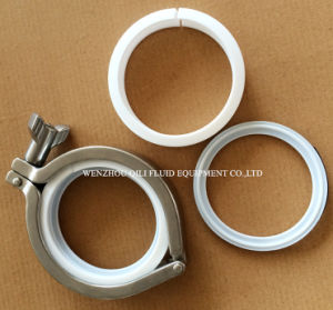 Sanitary Stainless Steel A12mps Swivel Joint Clamp Assembly pictures & photos