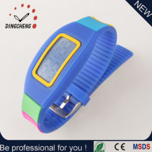 New Fashion Promotion Gift LED Digital Bracelet Silicone Watch pictures & photos