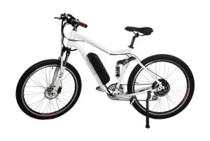 Hub Motor Lithium Battery Electric Bicycle pictures & photos