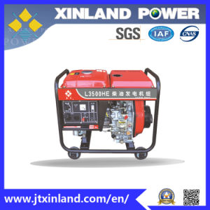 Open-Frame Diesel Generator L3500h/E 60Hz with ISO 14001 pictures & photos