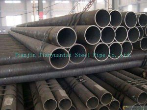 Carbon Seamless Black Steel Pipe pictures & photos