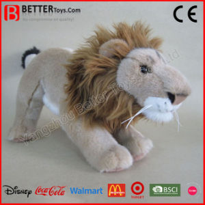 ASTM Realistic Stuffed Plush Animal Soft Lion Toy pictures & photos