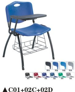 Hot Sale School Training Chair with Writing Table pictures & photos