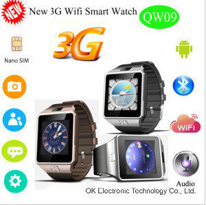 $35 Factory Cheapest Qw09 Smart 3G Watchphone Watch pictures & photos