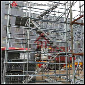 Galvanized Steel Step Ladders Working Platform for Building Construction