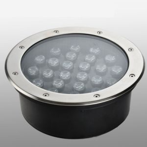 25cm Diameter Underground Garden LED Lawn Light 24W Warm White Cool White RGB pictures & photos