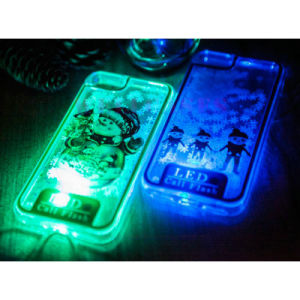 Christmas Series LED Call Flash Mobile Phone Case for iPhone/Samsung