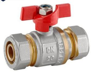 T Handle Brass Ball Valve pictures & photos