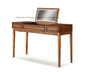 Bedroom Furniture/Wooden Brown Color Dressing Table (I&D-NG10583) pictures & photos