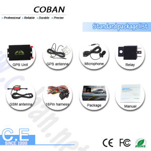 Dual SIM Card Vehicle Car GPS Tracker Tk105b with Speed Limitor pictures & photos