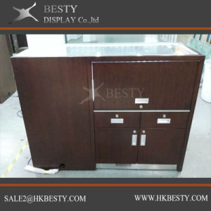 Jewellery Display Counter Showcase with Vneer Finish pictures & photos