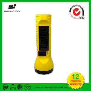 Micro USB Port Emergency Solar LED Torch pictures & photos