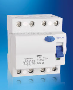 Sontune Stnl7 Series RCCB 2p 4p Residual Current Circuit Breaker pictures & photos