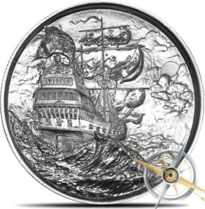Antique Silver Plated Die Casting Souvenir Medallions pictures & photos