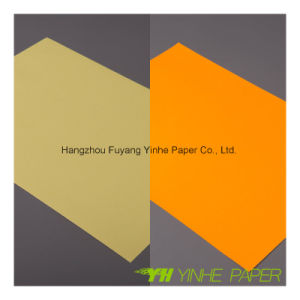 80GSM Yellow Color Fluorescent Adhesive