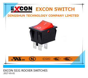 Tai Wan 20A Rocker Lighted Switch for Electric Warming Oven pictures & photos