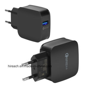 QC3.0 Portable Quick Charger USB Adatper mobile Phone Charging Station pictures & photos