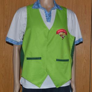 Supermarket Workwear/Fruit Shop Vest/Salesman Vest