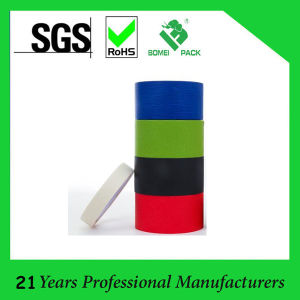 Colored Natural Rubber Based No Residual Masking Tape pictures & photos