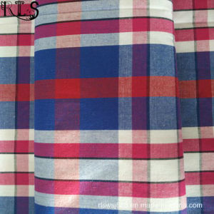 100% Cotton Poplin Woven Yarn Dyed Fabric for Shirts/Dress Rlsc40-20 pictures & photos