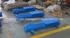 SL-20HP Shell and Tube Water Cooled Condenser for Refrigeration Unit pictures & photos